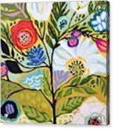 Flower Tree I    Acrylic Print