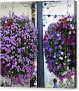 Flowers In Balance Acrylic Print