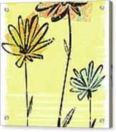 Flowers In Springtime Acrylic Print