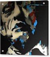 Folsom Blues _ Johnny Cash  Acrylic Print