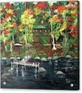 Fond Memories At Tupper Lake Acrylic Print