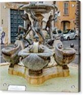 Fontana Delle Tartarughe Acrylic Print
