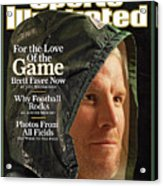 For The Love Of The Game Brett Favre Now Sports Illustrated Cover Acrylic Print