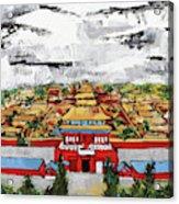 Forbidden City 2 201909 Acrylic Print