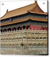Forbidden City 60 Acrylic Print