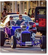 Ford T-bucket Hot Rod Acrylic Print