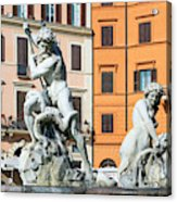 Fountain Of Neptune Acrylic Print