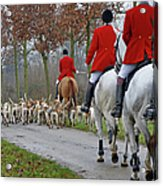 Fox Hunt  1 Acrylic Print