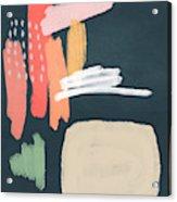 Fragments 2- Art by Linda Woods Acrylic Print