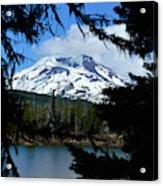 Framed - South Sister Acrylic Print