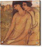 Francesca Da Rimini And Paolo Malatesta 1903 Acrylic Print