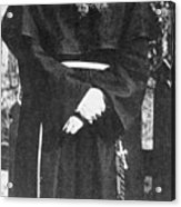Franciscan Martyr Saint Maximilian Kolbe Acrylic Print