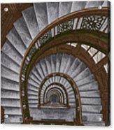 Frank Lloyd Wright - The Rookery Acrylic Print