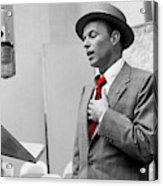 Frank Sinatra Painting Acrylic Print