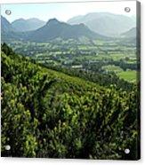 Franschhoek Valley Acrylic Print