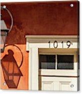 French Quarter Shadows Acrylic Print
