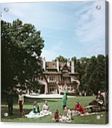 French Stately Home Acrylic Print