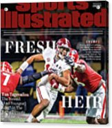 Fresh Heir Tua Tagovailoa, The Newest And Youngest King* In Sports Illustrated Cover Acrylic Print