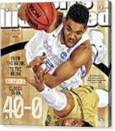 From The Brink. To The Brink. Kentucky Closes In On Sports Illustrated Cover Acrylic Print