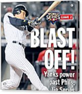 Front Page Of The Daily News From Acrylic Print