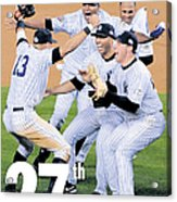 Front Page Wrap Of The Daily News Acrylic Print