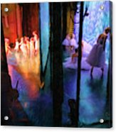 Front Stage, Back Stage Acrylic Print
