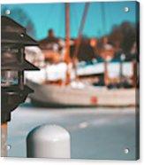 Frozen Seaport Acrylic Print