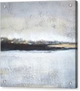 Frozen Winter Lake Acrylic Print