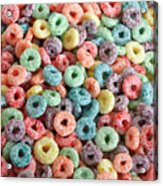 Fruit Cereal Acrylic Print