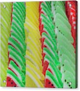 Fruit Jelly Candy Acrylic Print