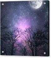 Full Moon Night Magic Acrylic Print