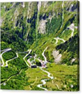 Furka Pass Switzerland Acrylic Print