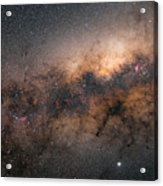 Galactic Core Acrylic Print
