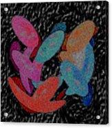 Galaxies Merging Acrylic Print