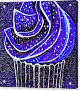Galactic Universe Cupcake Acrylic Print