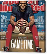 Gametime Are They Ready Sports Illustrated Cover Acrylic Print