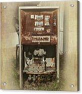 Gas Pump - Everett Corner Store Acrylic Print