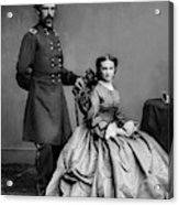 General Custer And His Wife Libbie Acrylic Print