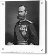 General Sir Frederick Roberts Acrylic Print