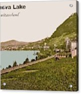 Geneva Lake Acrylic Print