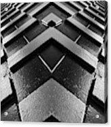 Geometric Night  Acrylic Print