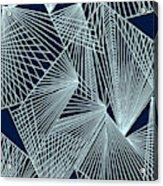 Geometric Pattern 1-colour-2 Acrylic Print