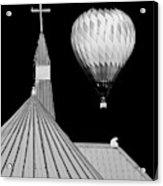 Geometric Patterns at Balloon Fest Acrylic Print