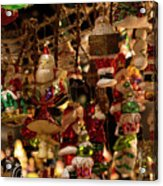German Christmas Ornaments Acrylic Print