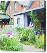 Getting Ready For Buffalo's Garden Walk 2019 Acrylic Print