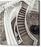 Getty Stairs Acrylic Print