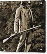 Gettysburg Battlefield - John Burns Acrylic Print