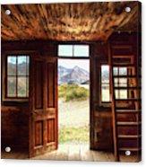 Ghost Town Cabin Acrylic Print