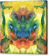 Ghost - Watercolor Painting On Paper Acrylic Print