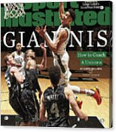 Giannis How To Coach A Unicorn Sports Illustrated Cover Acrylic Print